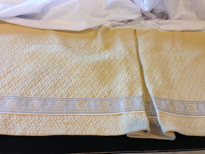 Finished Bedskirt