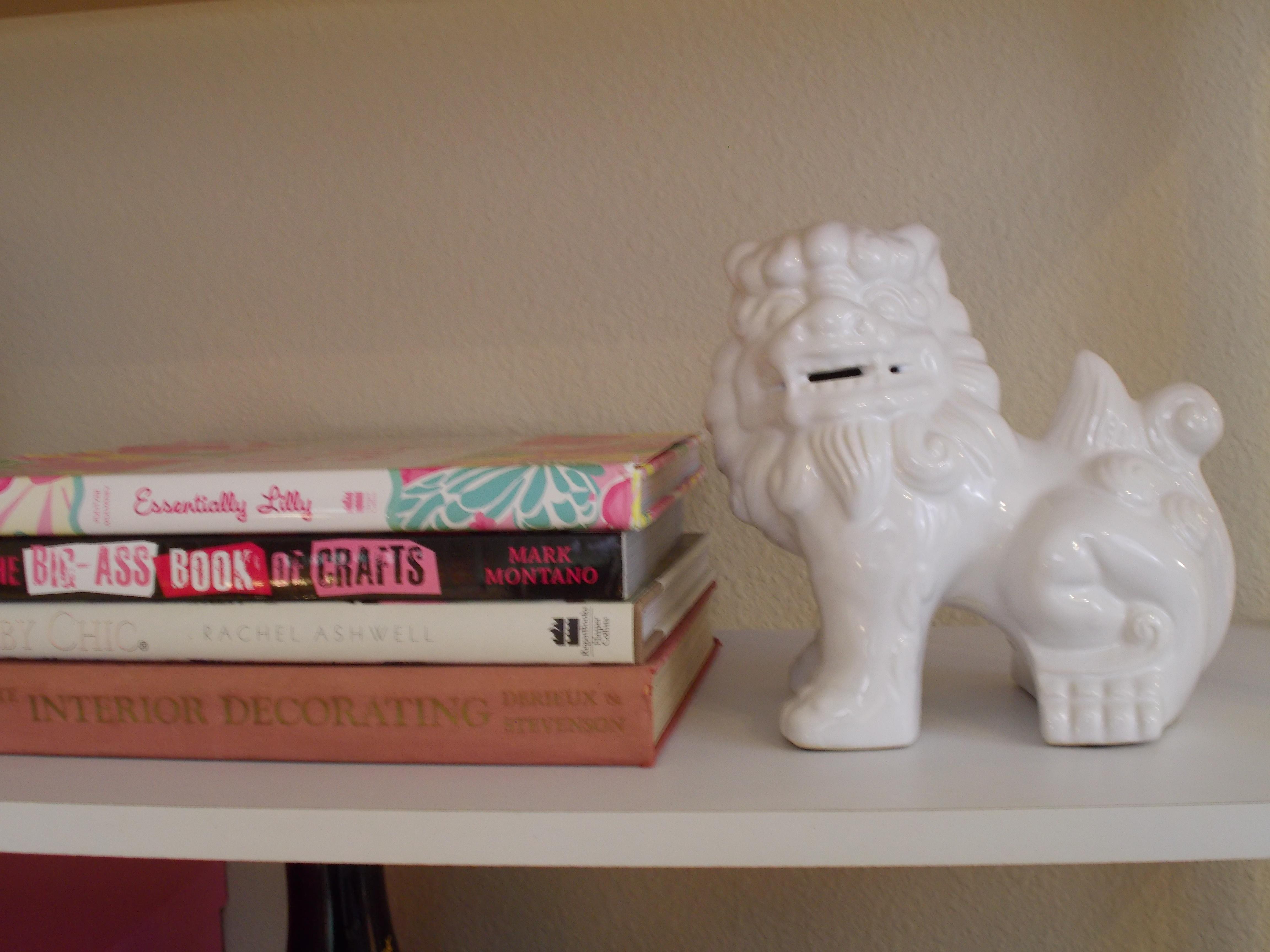 Detail of Bookshelf.