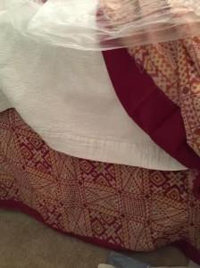 Sari for Bedskirt.