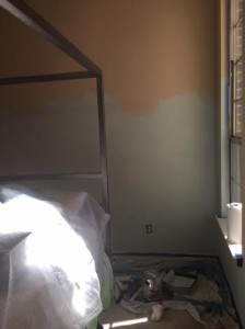painting of guest room