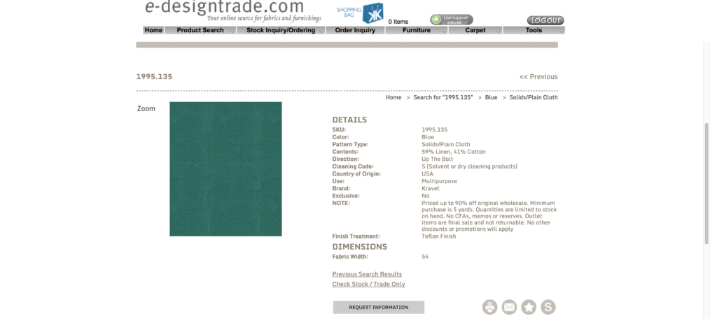Kravet discontinued fabric