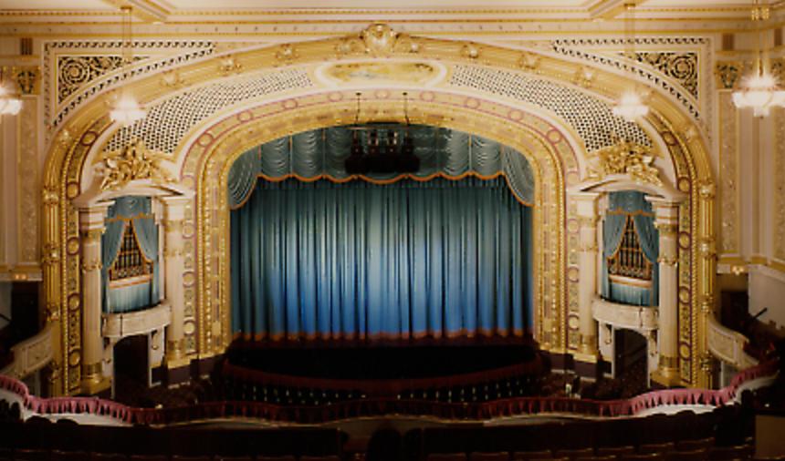 Theater curtain inspiration.
